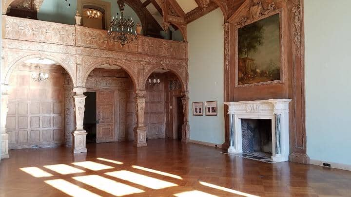 Greystone Mansion interior