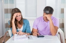 couple filing taxes jointly